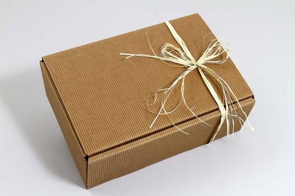 Geschenkkarton -Modern Natur-